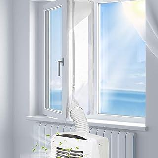 Xtracare Fensterabdichtung für Klimaanlage Mobile Klimageräte und Abluft-Wäschetrockner, Passend zu Allen Schlauchgrößen und Jedem Klimagerät 400  30cm