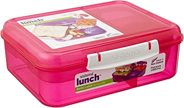 Sistema Bento Lunch Food Container, 1.65 Liters