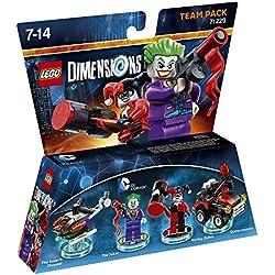LEGO - Starter Pack Dimensions (PS3) + LEGO Dimensions - DC Comics, The Joker & Harley Quinn: Amazon.es: Videojuegos