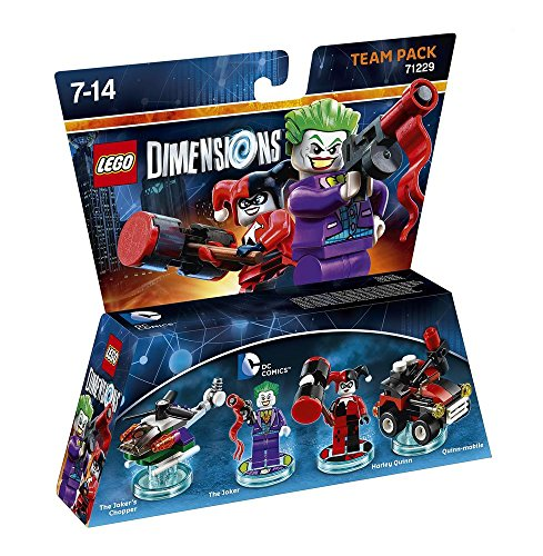 Warner Bros Interactive Spain Lego Dimensions - DC Comics, The Joker & Harley Quinn