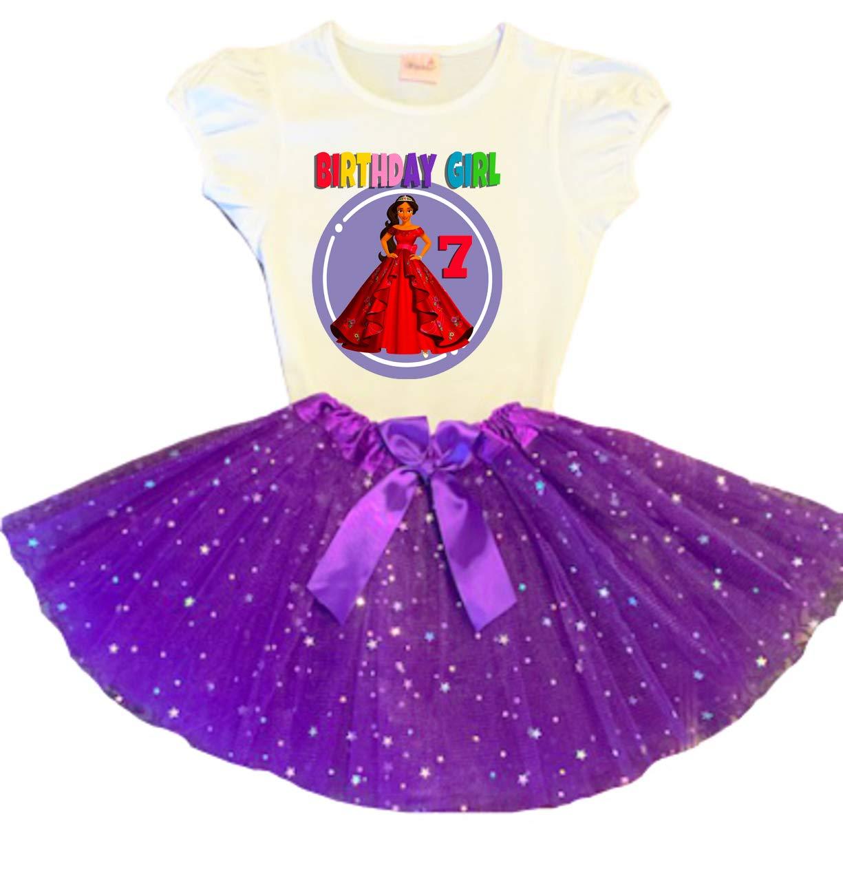 Elena Spring new work of Avalor Birthday Tutu Tu 7th Purple Max 45% OFF Dress Party