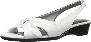 Best white dress sandals low heel Reviews