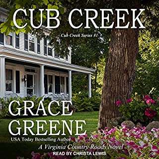 Cub Creek: A Virginia Country Roads Novel     Cub Creek Series, Book 1              Written by:                                                                                                                                 Grace Greene                               Narrated by:                                                                                                                                 Christa Lewis                      Length: 8 hrs and 15 mins     Not rated yet     Overall 0.0