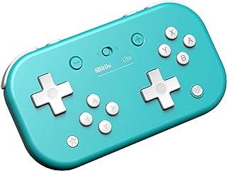 8Bitdo Lite Bluetooth Gamepad for Nintendo Switch Lite, Nintendo Switch & Windows,Steam, Raspberry Pi (Turquoise Edition)