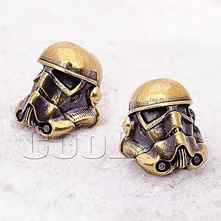 CooB EDC Paracord Bead Beads Star Wars Darth Vader, Stormtrooper, YODA, Mandalorian Baby YODA Jedi,Chewbacca Hand-Casted B...