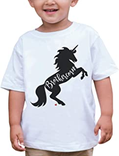 7 ate 9 Apparel Boys Brother Unicorn T-Shirt