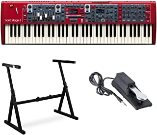 Nord Stage 3 Compact 73 Key Semi-Weighted Keyboard with Phys