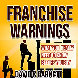 Franchise Warnings audiobook cover art