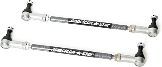 American Star 4130 Chromoly Steel ATV Tie Rod Upgrade Kit Compatible with Foreman TRX 500, Rincon 650-680, Rubicon TRX 500 All Years, TRX 500