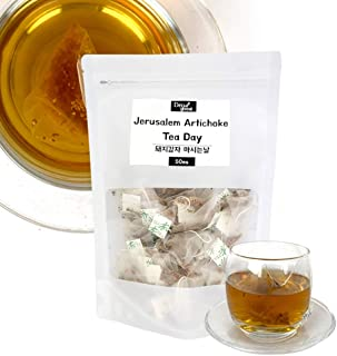 Good Day for drinking Tea Total 32 flavors and taste from different countries 50tea-Bags/Pack (JERUSALEM ARTICHOKE TEA)