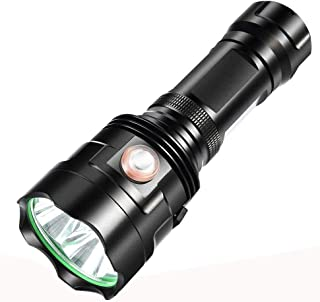 مصباح كشاف LED قوي XHP90 مقاوم للمياه قابل للشحن ومضاد للماء