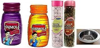 2 x 120gm Each Bottle Dabur Hajmola Imli & Original Flavor; 2 x Dilbahars Yummy Digestives Khatta Mitha Chhuhara & Aam Gol...