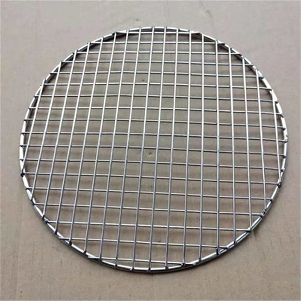 PDGJG Denver Mall 304 Stainless Steel Round Barbecue BBQ Meshes Ra Net Grill New item