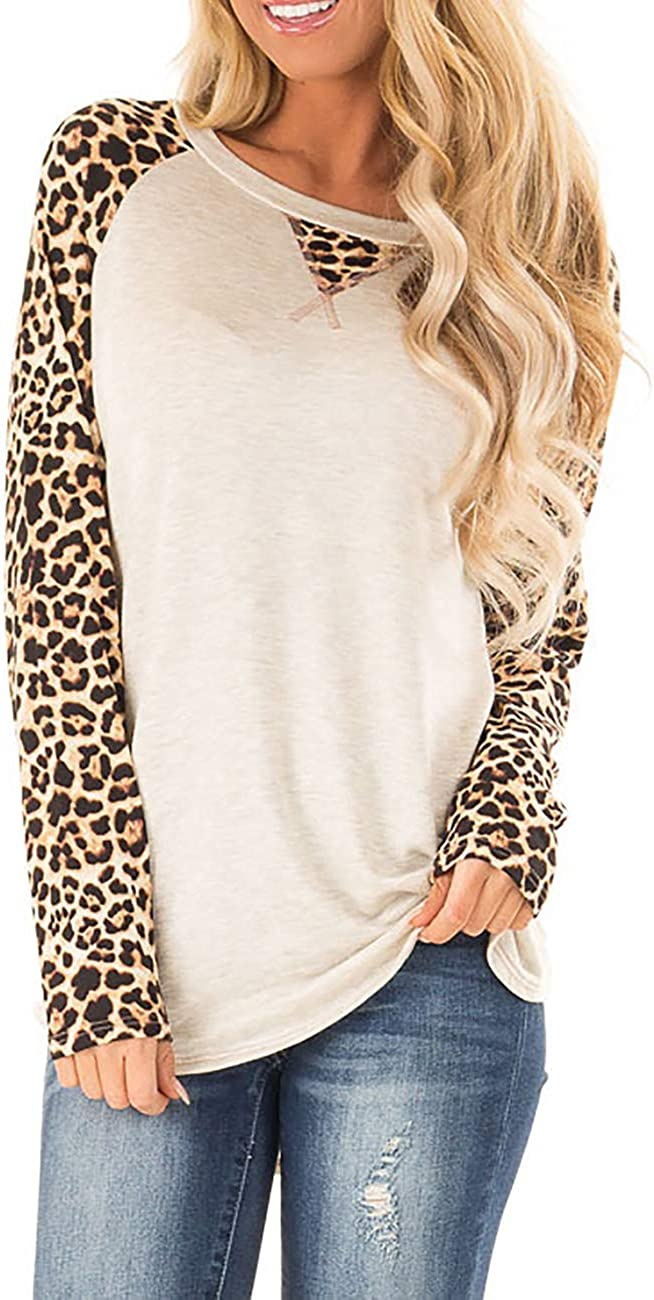 Halife Women's Color Block Raglan Nashville-Davidson Mall Tops Shirts Long Austin Mall Tunic Sleeve
