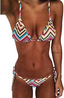 3d3f4db11af1 beautyjourney ❤️ Costumi Donna Mare Due Pezzi Push up Sexy Spiaggia Ragazza  Bikini Donna Mare Push