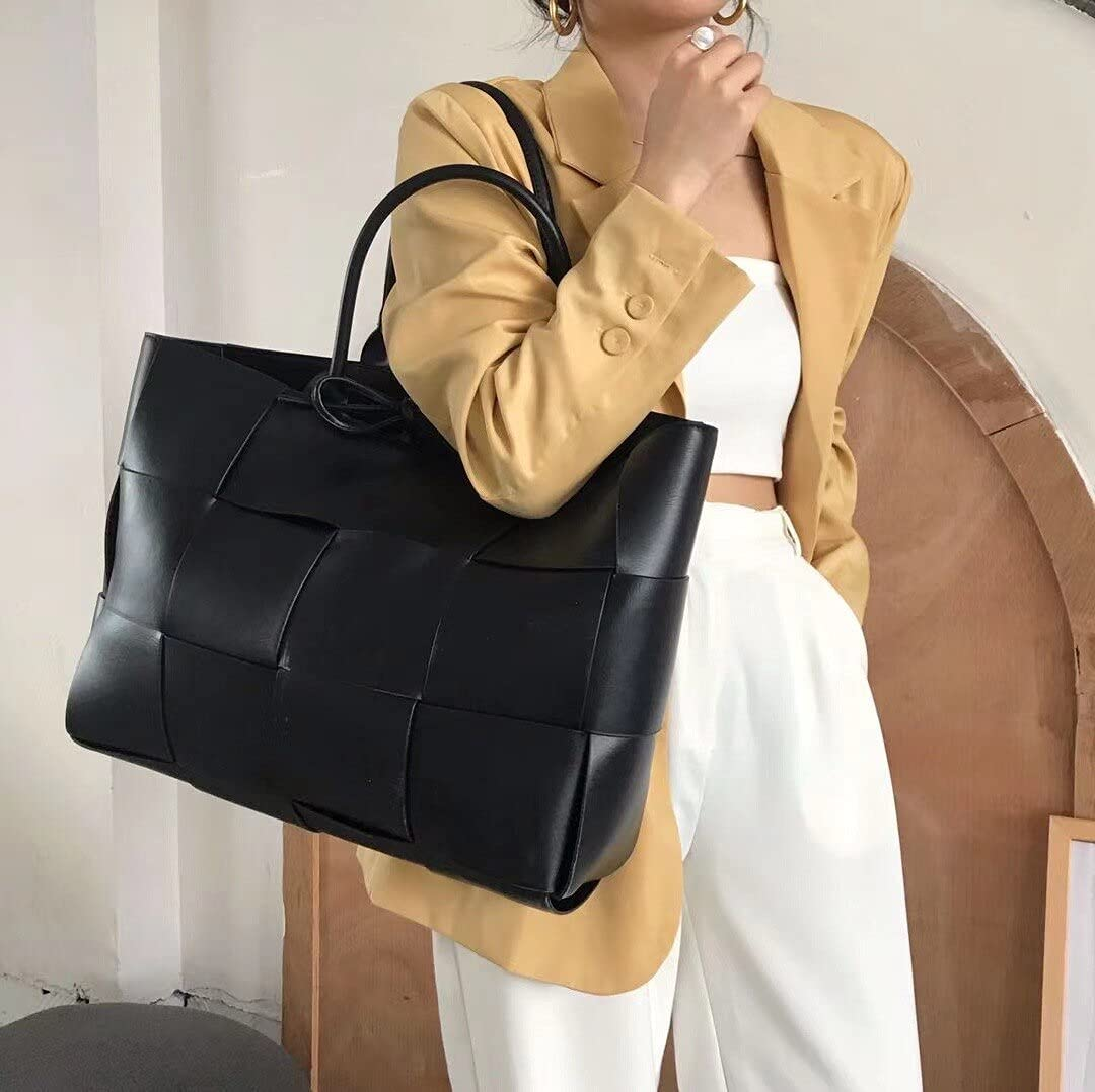 Shoulder Bags 2021 ladies Sale special price woven Beauty products large perso leather clamshell PU