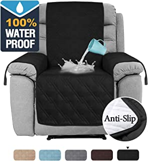 H.VERSAILTEX 100% Waterproof Recliner Covers for Large Recliner, Seat Width Up to 30