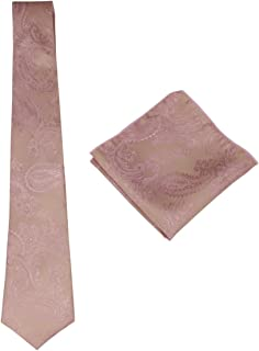 gold paisley pocket square