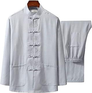 Best Tai Chi Uniform Shirt - Qi Gong Martial Arts Wing Chun Shaolin Kung Fu Shirt Training Cloths Apparel Clothing Review