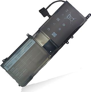 ノートパソコンのバッテリー9NJM1 for Dell Alienware 15 R3 R4 17 R4 R5 Series Notebook ALW17C-D1738 ALW17C-D2758 ALW17C-R1748 0546FF 0MG2...