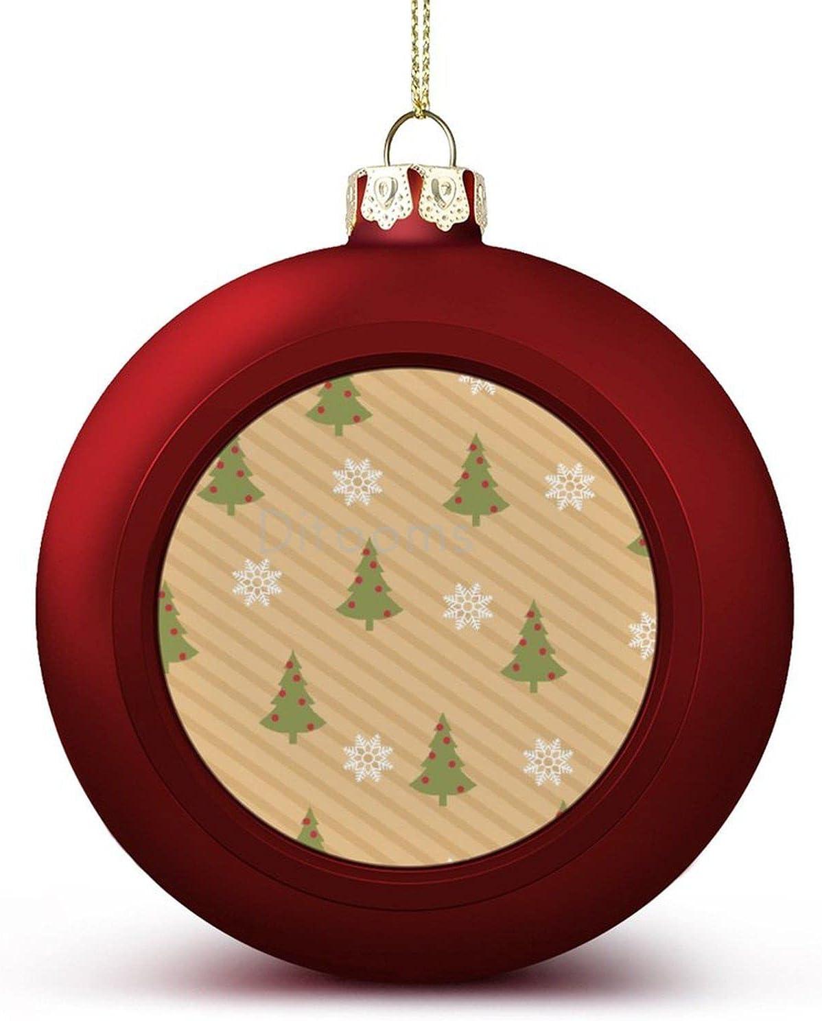 4PCS Japan Ranking TOP18 Maker New Christmas Balls Ornaments Decorat Merry