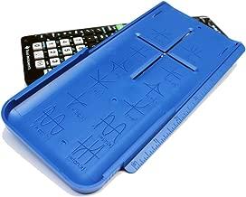 EZ Graphing Blue Hard Slide Cover for TI 84 Plus CE (See Description for Details)