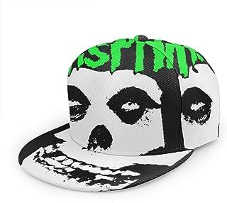 最新の人気の帽子 全幅フラット野球帽 Misfits メンズ、レディーズ、帽子 野外活動、ショッピング、野球、ランニング、ショッピング、ヒップホップ、パーティー