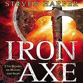 Iron Axe audiobook cover art