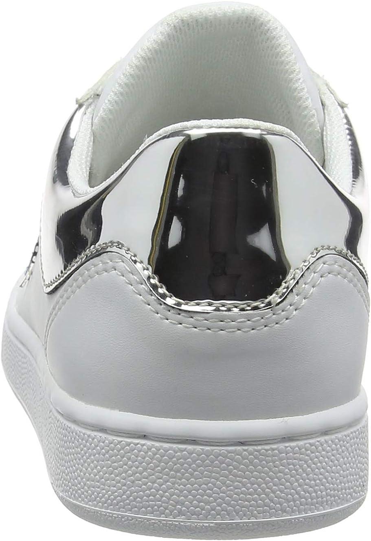 Trussardi Jeans Sneakers Tj Logo, Sneaker Donna Blu Blue Lard 750 U280
