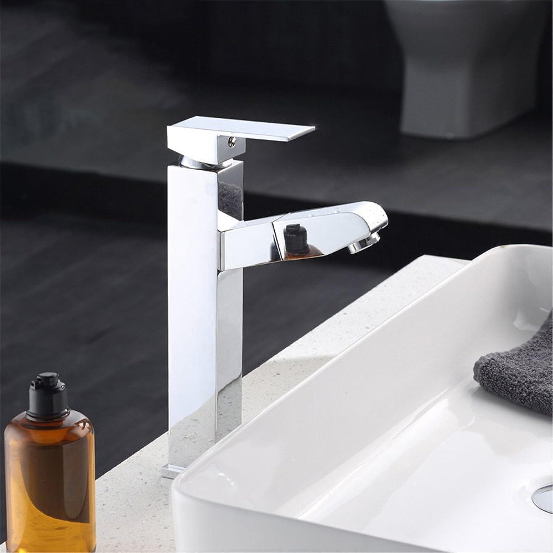 Das kontinentale Waschbecken Armaturen Waschbecken mit warmen und kalten mixer Cu alle Messing retro Badezimmer Armaturen
