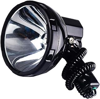 DZSF 35 W – 220 W högeffekt Xenon-lampa utomhus handhållen jakt fiske patrull fordon HID söklampor 160 W bråck spotlight 1...