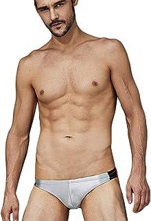 Men's Underwear Underwear Men's Underwear Tights Thongs, Silver_L
