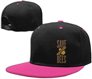 Eyscar Women&Men Save The Bees Unisex Fashion Cap Adjustable Strapback