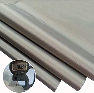 Emf Protection Fabric,RFID EMF Shielding Nickel Copper Fabric Signal Blocking Material 1 Yard,EMF Shielding, Cell Phone Signal Blocking,Bluetooth Block.Military Grade Shielding Fabric(44`` 36``)