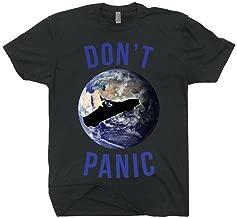 Starman Tesla Space X Don't Panic Starman Mission To Mars Earth T-shirt