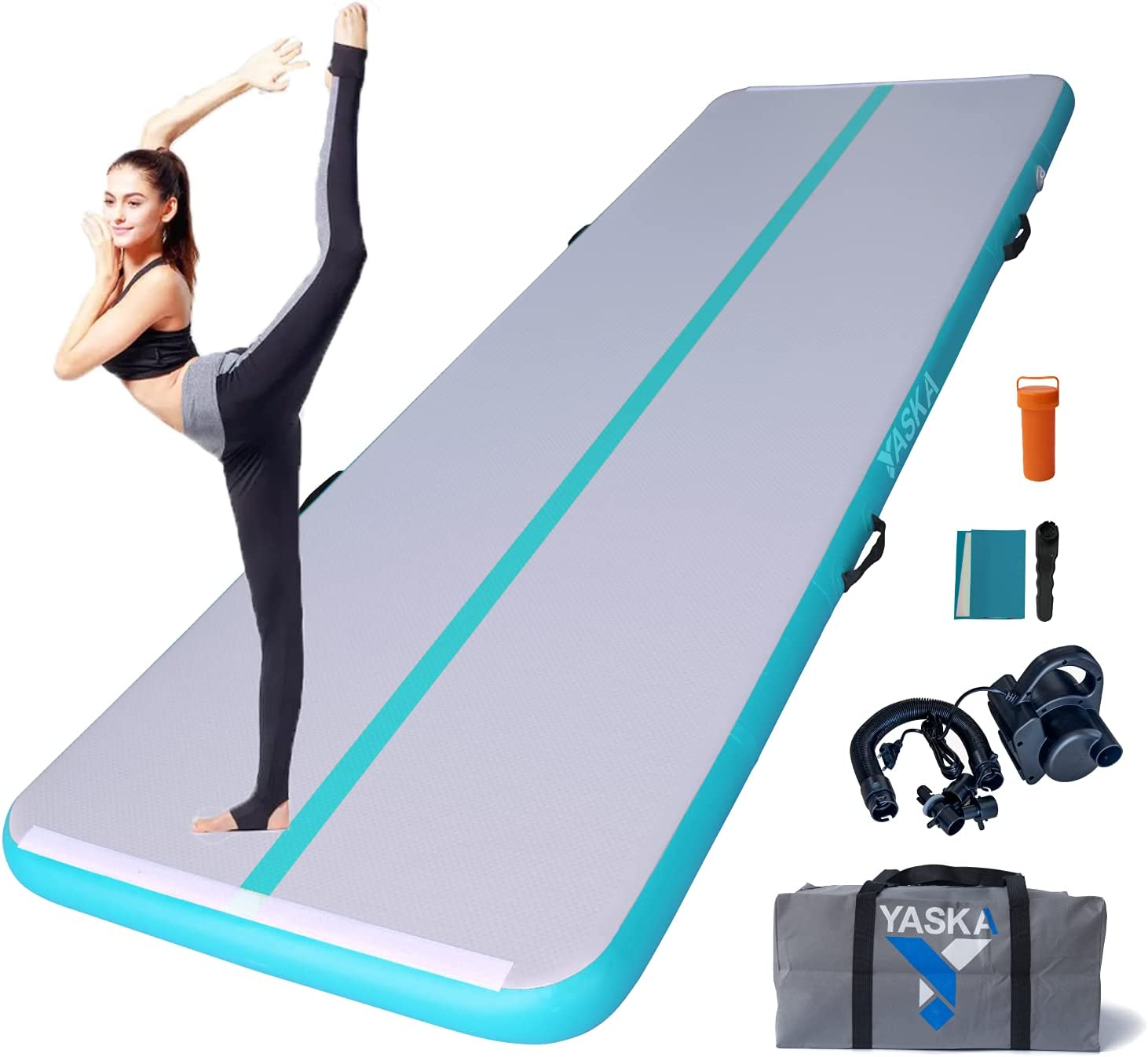 10 13ft low-pricing Air Tumbling Mat 4 inches Electric With Pump Thickness f High quality new