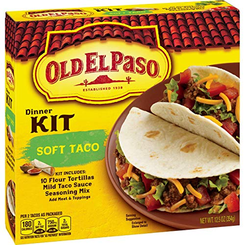 Old El Paso Soft Taco Dinner Kit is a Top of the Line Product