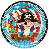 Krause & Sohn Party-Set Kindergeburtstag viele Teile Geschirr Geburtstag Dekoration Geburtstagstisch (Pirat) - 2