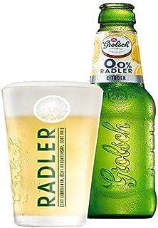 Grolsch Radler - Juego de 6 Vasos de Cerveza (25 cl)