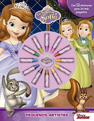 La princesa Sofía. Pequeños artistas: Con 12 miniceras para los más pequeños