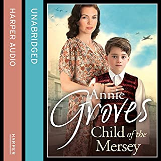 Child of the Mersey audiobook cover art