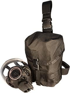 High Speed Gear MOLLE Gas Mask Pouch V2, Dump Pouch, Drop Leg/Shoulder Strap