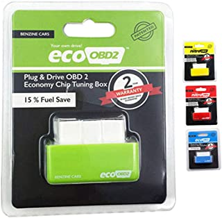Yourshops OBD Fuel OBD Oil Plug and Drive ECO OBD2 Car Fuel Economy OBDII Drive Box Plug and Play 1Set