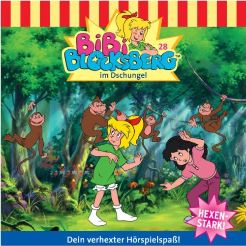 Bibi im Dschungel audiobook cover art
