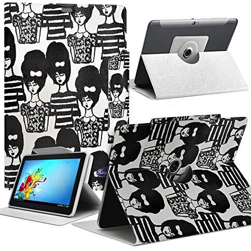 Karylax - Funda universal para tablet Samsung Galaxy Tab 4 de 7 pulgadas, diseño MV15