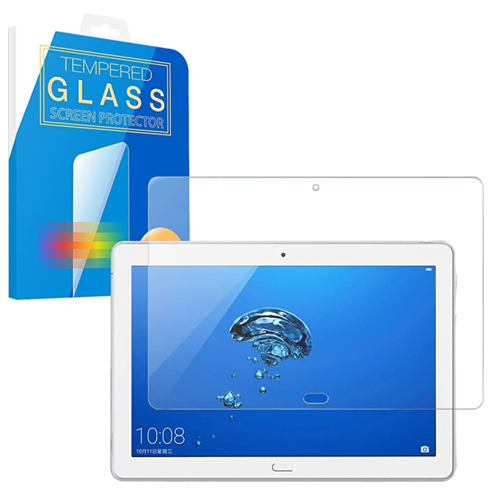 構成する信仰嬉しいですMS factory dtab d-01K/HUAWEI MediaPad M3 Lite 10 wp ガラス フィルム ブルーライト カット 90% 強化ガラス ディータブ メディアパッド ファーウェイ 保護フィルム 90日 保証 FD-MPm3lt-10wp-BLUE-AB