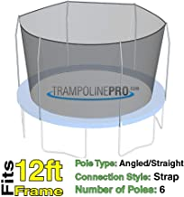 Trampoline Replacement Nets with Straps | Sizes 12 ft - 14 ft - 15 ft | Net Only | Poles Not Included