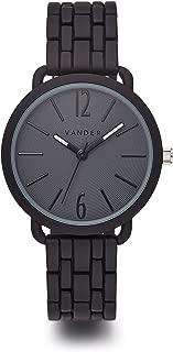 VANDER Womens Watches Fashion Simple Minimalist Waterproof Quartz Analog Watch Designer Luxury Business Classic Dress Wrist Watch Black
