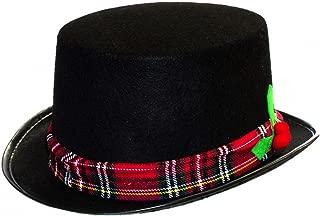 Darice caroler Snowman Black Fabric Top Hat Costume Holiday