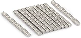 YXQ M6 x 60mmThread Rod 304 Stainless Steel Fully Right Hand Threads(12Pcs)